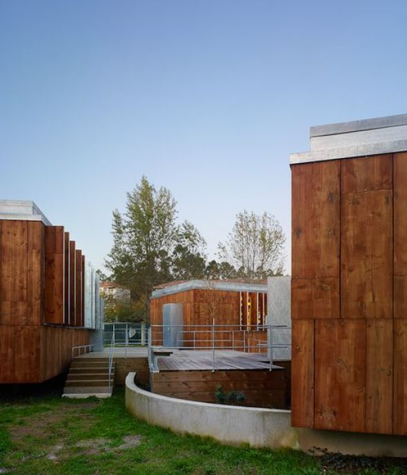La madera un material muy contempor neo noticias de - Arquitectura en madera ...