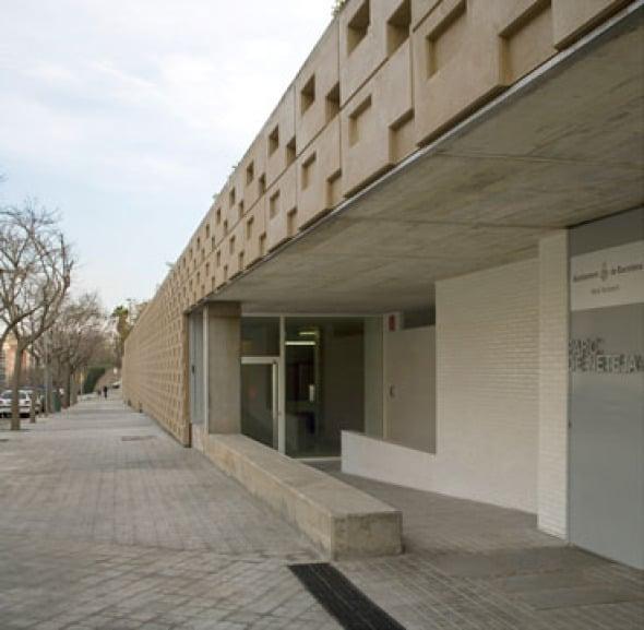 parque de la neteja liebmann villaveccia arquitectos