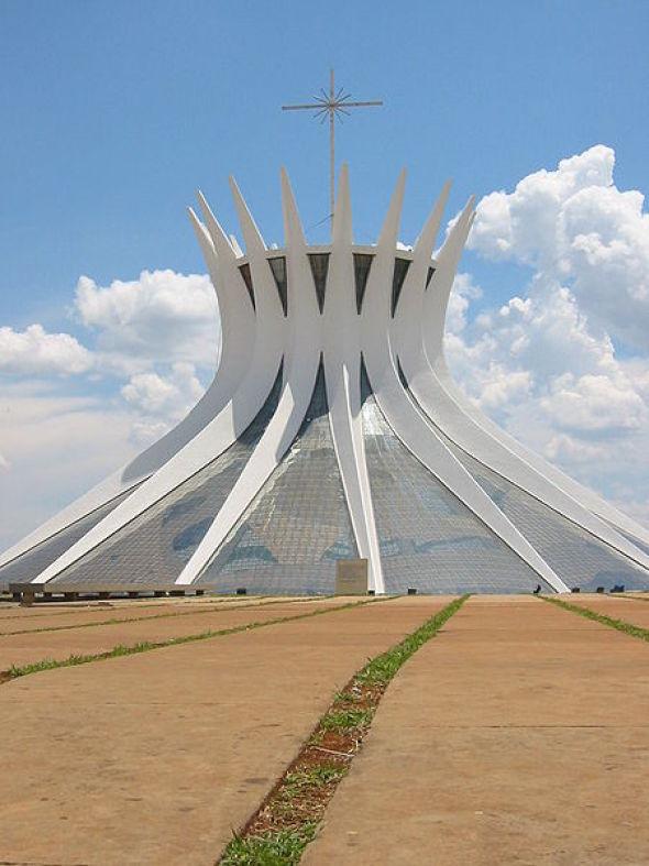 Catedral de brasilia oscar niemeyer noticias de for Buscador de arquitectura