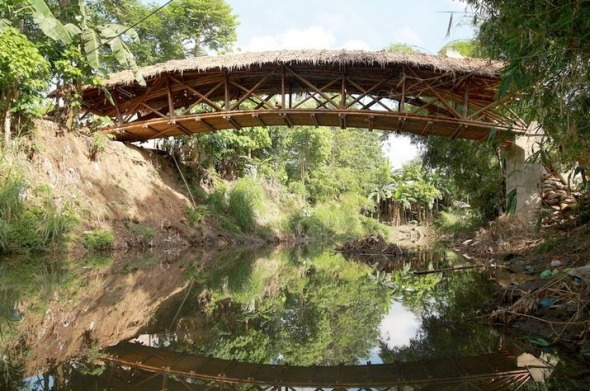 Puente de bamb en filipinas noticias de arquitectura for Buscador de arquitectura