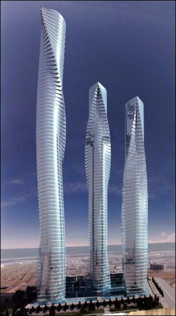 los rascacielos de calatrava siguen sin tener garantizada la de inversores santiago calatrava