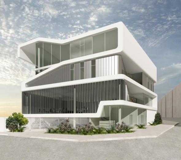 Torre de oficinas buscador de arquitectura for Oficinas de arquitectura