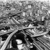 Mirada aérea y panorámica de la zona central de la ciudad.
